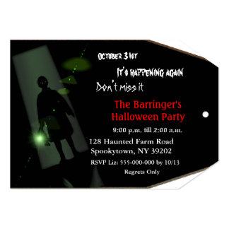 Spooky Fun Halloween Invitation 2 VIP Pass