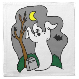Spooky Ghost napkin