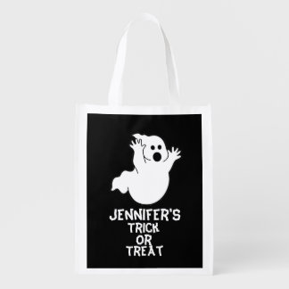Spooky Ghost Trick Or Treat Bag