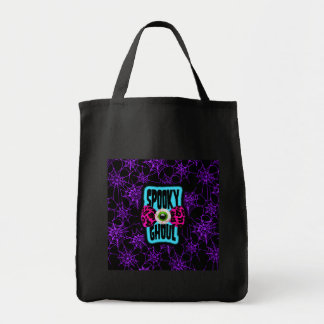 Spooky Ghoul Canvas Bag