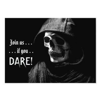Spooky Grim Reaper Photography Halloween Party 13 Cm X 18 Cm Invitation Card