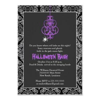 Spooky Halloween Bash 13 Cm X 18 Cm Invitation Card