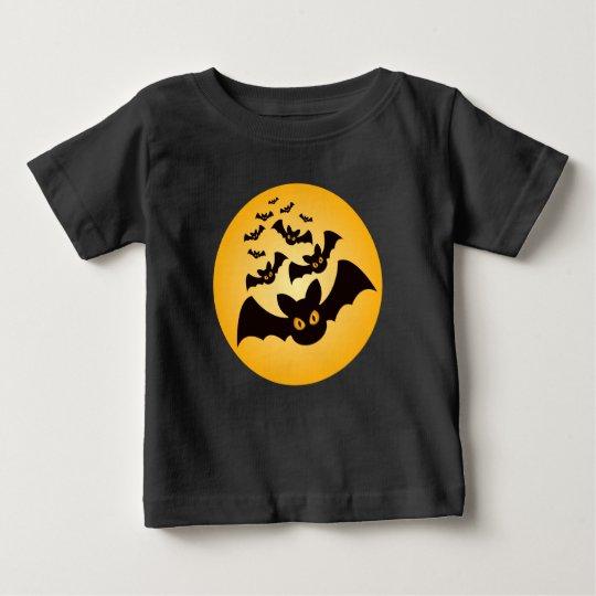 Spooky Halloween Bats Baby T-Shirt