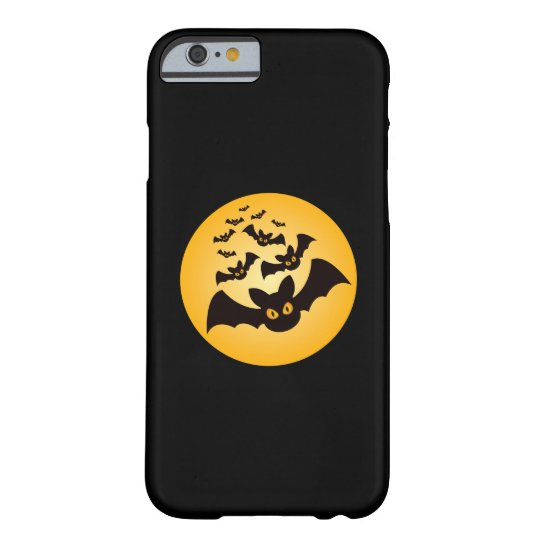 Spooky Halloween Bats Barely There iPhone 6 Case