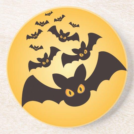 Spooky Halloween Bats Coaster