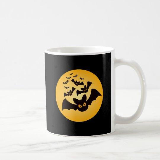 Spooky Halloween Bats Coffee Mug