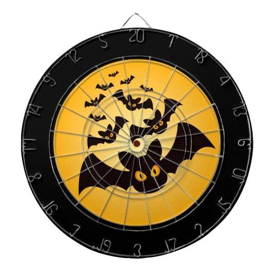 Spooky Halloween Bats Dartboard