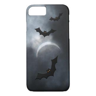 Spooky Halloween Bats In Eclipse iPhone 8/7 Case
