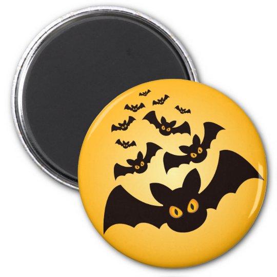 Spooky Halloween Bats Magnet