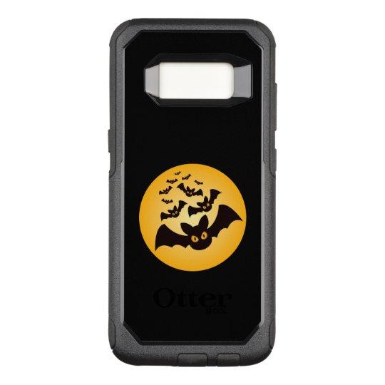 Spooky Halloween Bats OtterBox Commuter Samsung Galaxy S8 Case