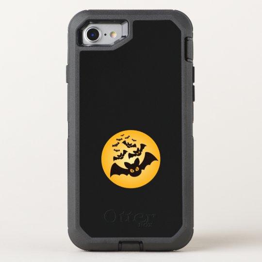 Spooky Halloween Bats OtterBox Defender iPhone 8/7 Case