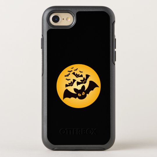 Spooky Halloween Bats OtterBox Symmetry iPhone 8/7 Case