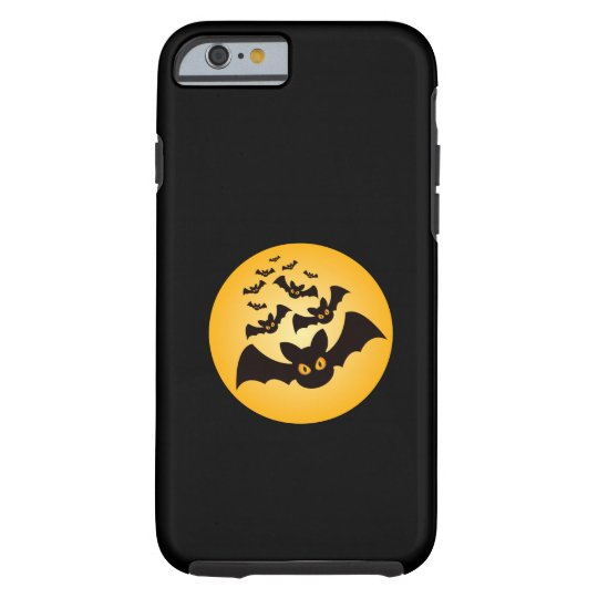 Spooky Halloween Bats Tough iPhone 6 Case