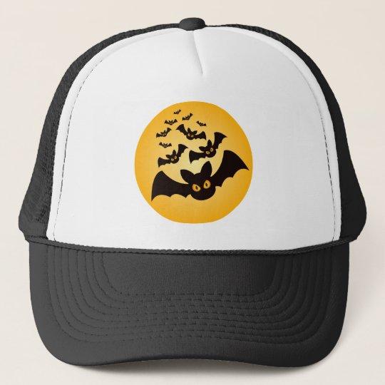 Spooky Halloween Bats Trucker Hat