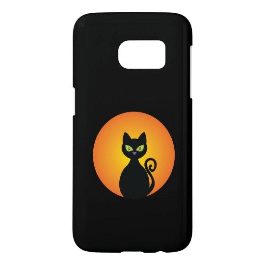 Spooky Halloween Black Cat