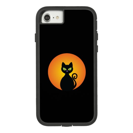 Spooky Halloween Black Cat Case-Mate Tough Extreme iPhone 8/7 Case