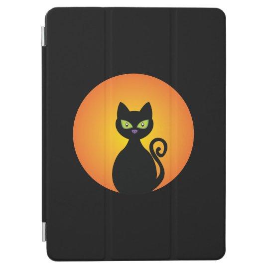 Spooky Halloween Black Cat iPad Air Cover