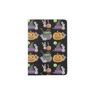 Spooky Halloween Bunnies Passport Holder