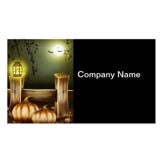 Spooky Halloween Business Cards