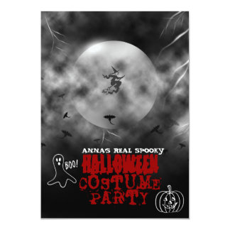 Spooky Halloween Costume Party Invitation