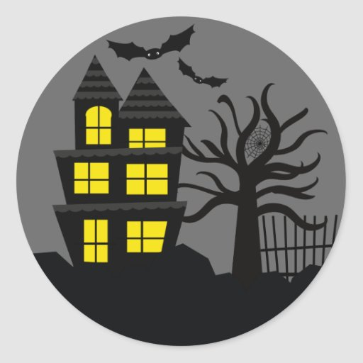 Spooky Halloween Envelope Seals Stickers
