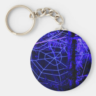 Spooky Halloween Forest Keychain