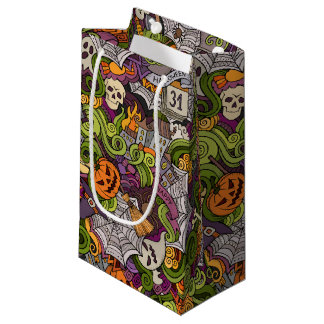 Spooky Halloween Gift Bag - Small, Glossy