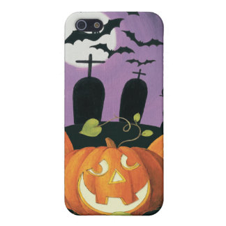 Spooky Halloween Haunted House iPhone 5/5S Covers