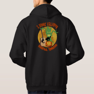 Spooky Halloween Nashville Men's Hooded Sweatshirt