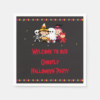 Spooky Halloween Party Disposable Serviette