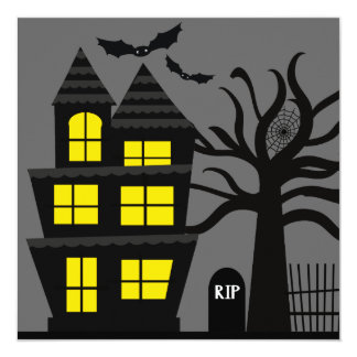 Spooky Halloween Party Invitations