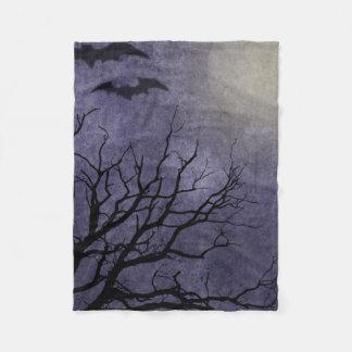 Spooky Halloween Prints Fleece Blanket