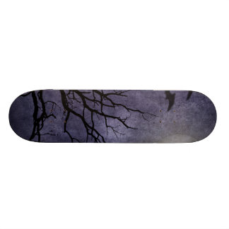 Spooky Halloween Prints Skate Boards