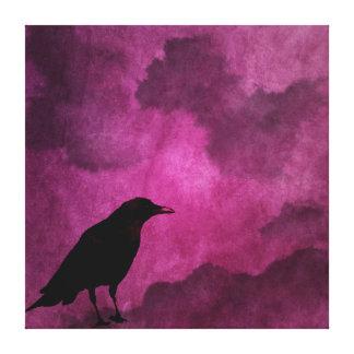 Spooky Halloween Raven Prints