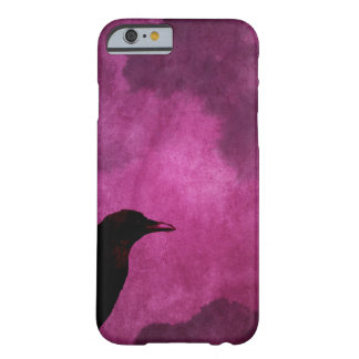 Spooky Halloween Raven Prints Barely There iPhone 6 Case