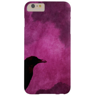 Spooky Halloween Raven Prints Barely There iPhone 6 Plus Case
