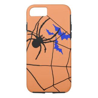 spooky halloween spider-bats iPhone 7 case design