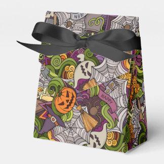 Spooky Halloween Tent Favor Box