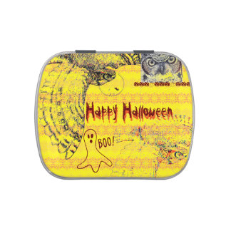 Spooky Happy Halloween Jelly Belly Tin