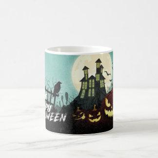 Spooky Haunted House Costume Night Sky Halloween Coffee Mug
