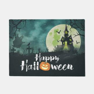 Spooky Haunted House Costume Night Sky Halloween Doormat