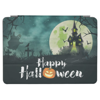 Spooky Haunted House Costume Night Sky Halloween iPad Air Cover