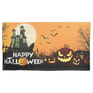 Spooky Haunted House Costume Night Sky Halloween Pillowcase