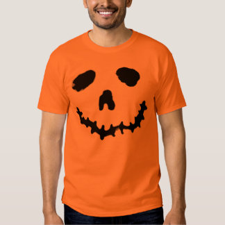 Spooky Jack-o-lantern Ghost Face Shirt