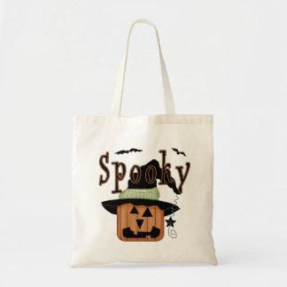 Spooky Jack-O-Lantern Trick-Or-Treat Tote Bag