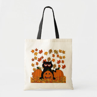 Spooky Kitty Tote Bag