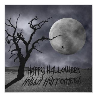 Spooky Landscape Halloween - Party Invitation