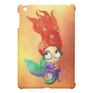 Spooky Mermaid with Octopus Cover For The iPad Mini