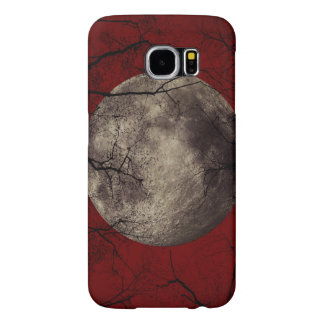 Spooky Moon Halloween Prints Samsung Galaxy S6 Cases