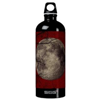 Spooky Moon Halloween Prints Water Bottle
